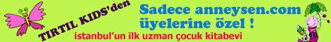 anneysen.com ve Tırtıl Kids Kitabevi kampanyası